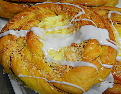 Kosher Coconut Custard Danish