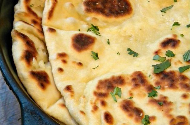 Garlic-Butter Naan