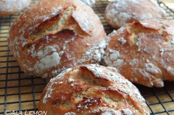 How to make 2-hour no knead bread