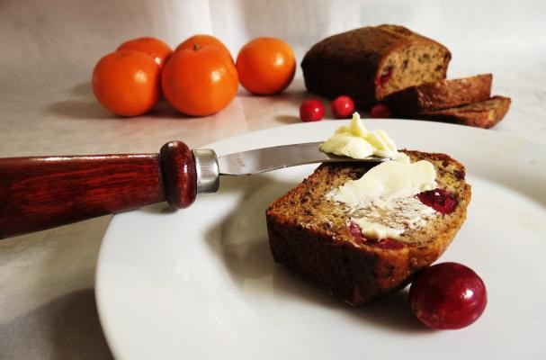 How to make Cranberry Orange Banana Bread