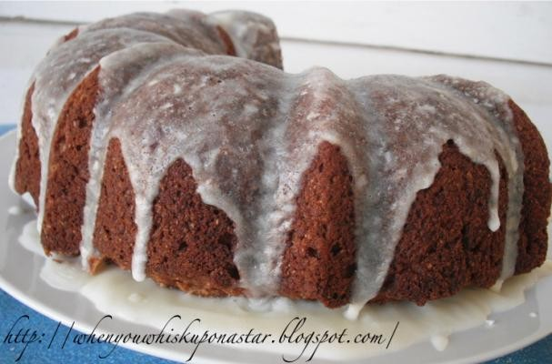 How to make Glazed Banana Bread Bundt Cake