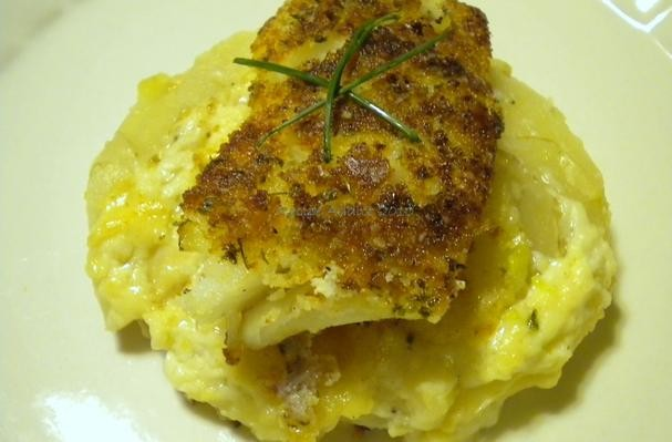 How to make Bread Crumb Topped Cod