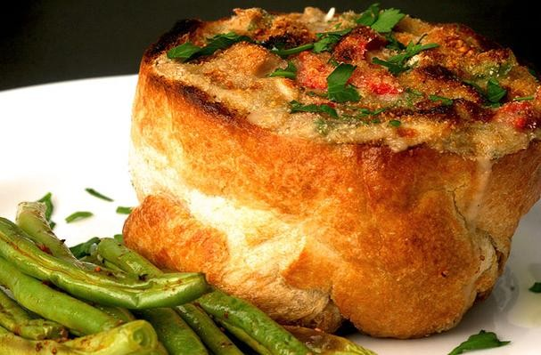How to make Bread Bowl Au Gratin