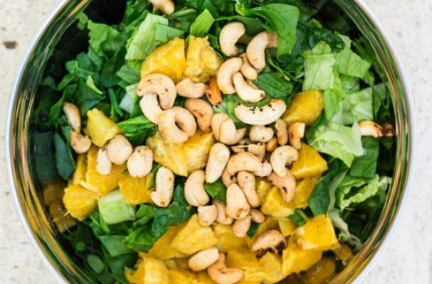 Orange Cashew Salad