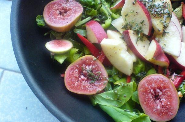 Fig, Apple, and Arugula Salad