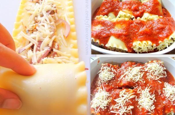 Roll Up Eggplant Lasagna