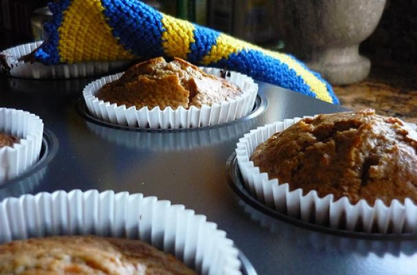 Protein Packed Carrot Muffins