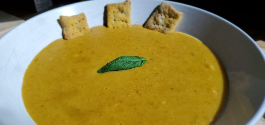 Instant Pot Curried Lentil Soup