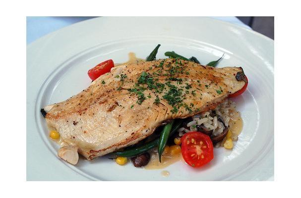 Mushroom Tarragon Fish