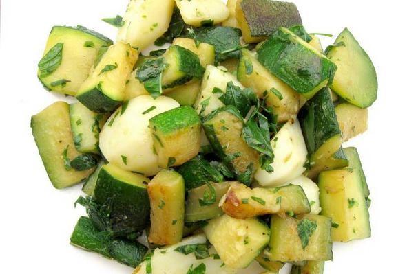 Refreshing Zucchini and Potatoes