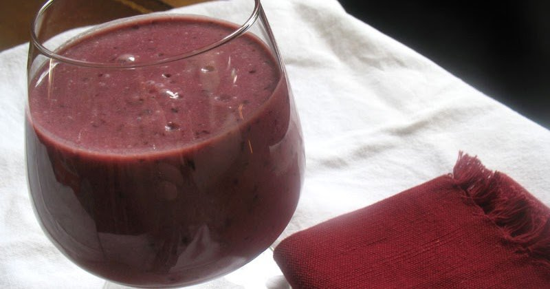 Cherry Coconut Milk Smoothie