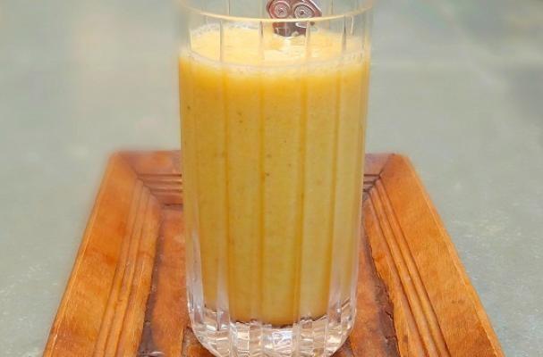 Luscious Orange Cardamom Smoothie