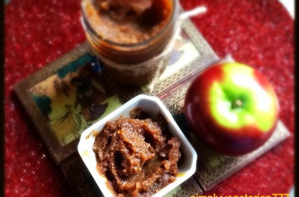 Apple Pears and Dates Chutney / Compote
