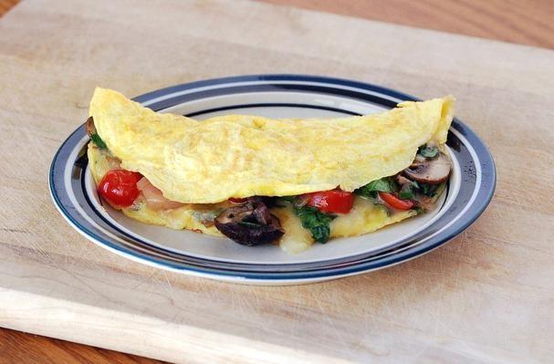 Loaded Veggie Omelet