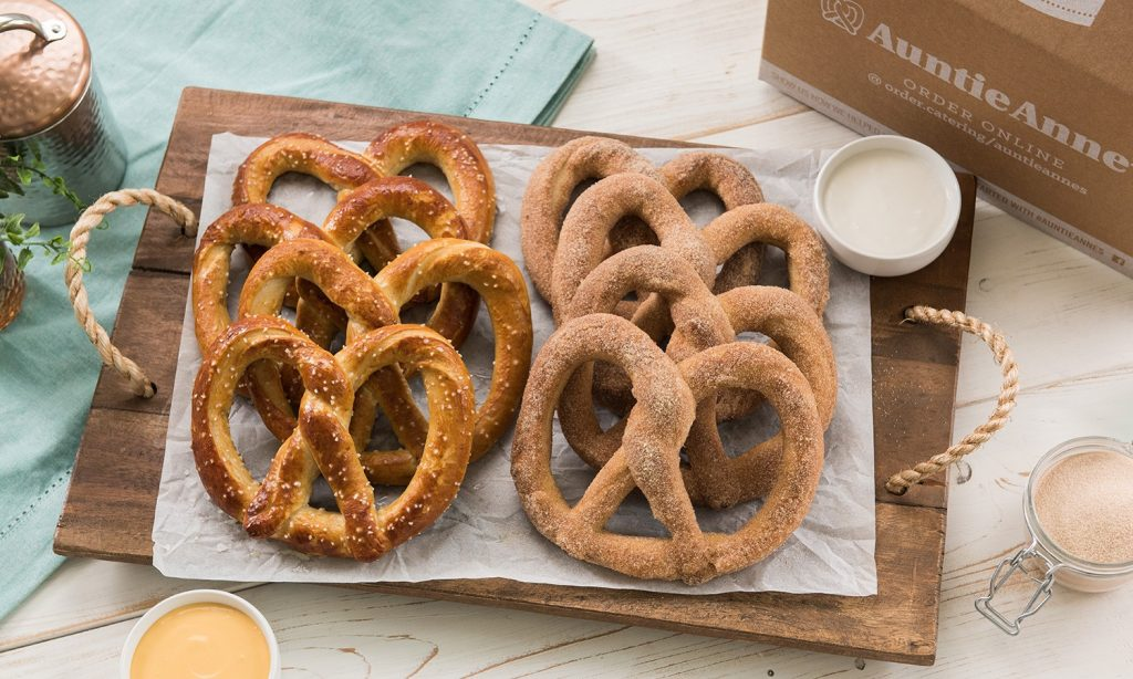 Auntie Anne Soft Kosher Soft Pretzels