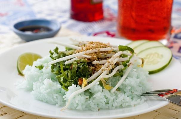 Kerabu Rice (Rice Salad)