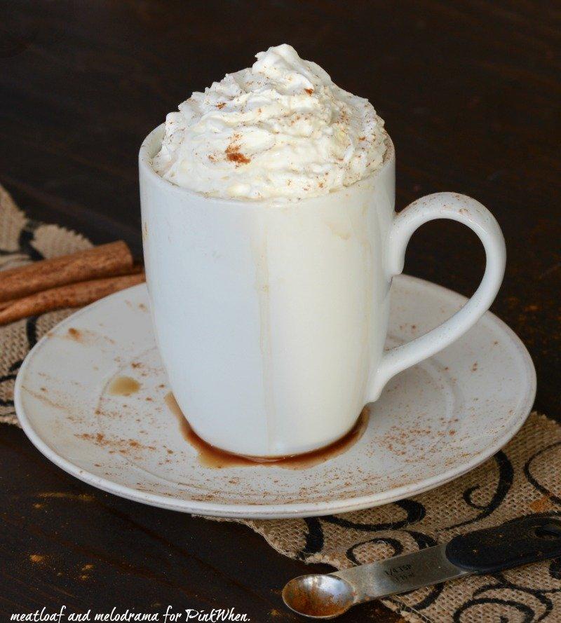 Cinnamon Vanilla Hot Chocolate