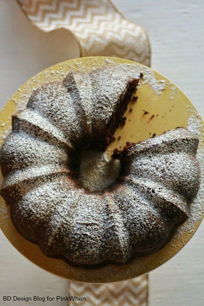 Delicious Triple Chocolate Bundt Cake