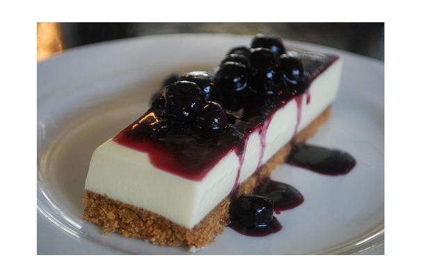 New Orleans Goat Cheesecake