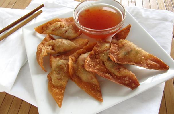 Vegetable Fried Wontons