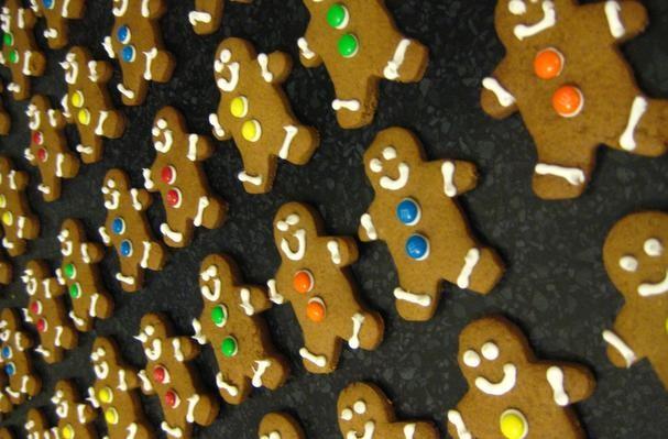 Sugar-Free Gingerbread Men