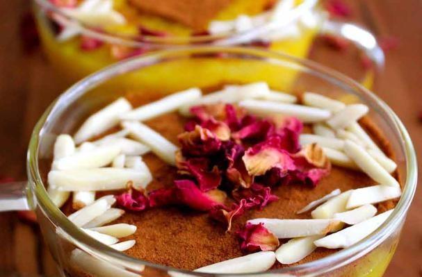 Sholeh Zard: Saffron Infused Rice Pudding